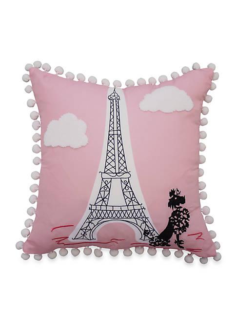 Waverly Kids Ooh La La Embroidered Decorative Accessory