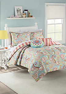 Wild Card Comforter Set