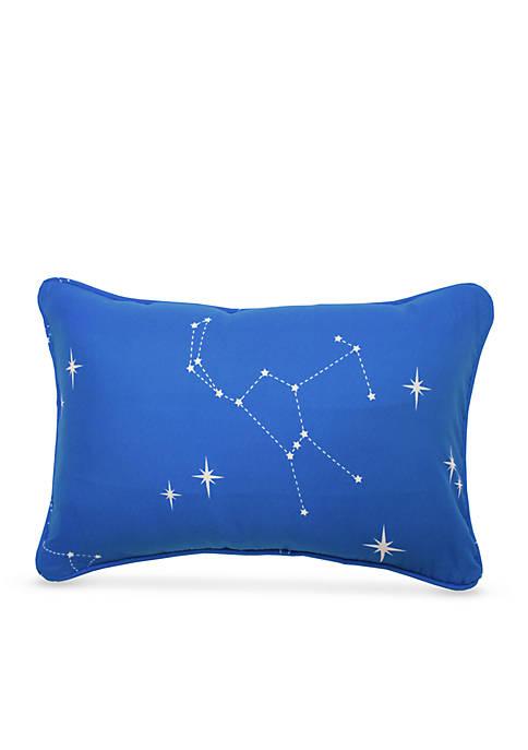 Space Adventure Oblong Decorative Accessory Pillow