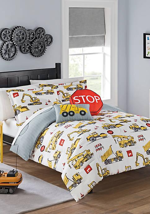 Under Construction Comforter Set