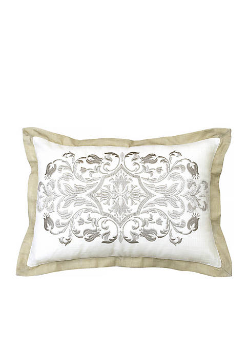 Beautyrest Pemberly Embroidered Decorative Pillow