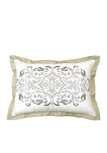 Pemberly Embroidered Decorative Pillow