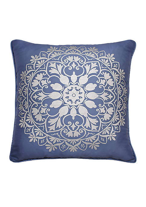 Beautyrest Indochine Silver Foil Decorative Pillow