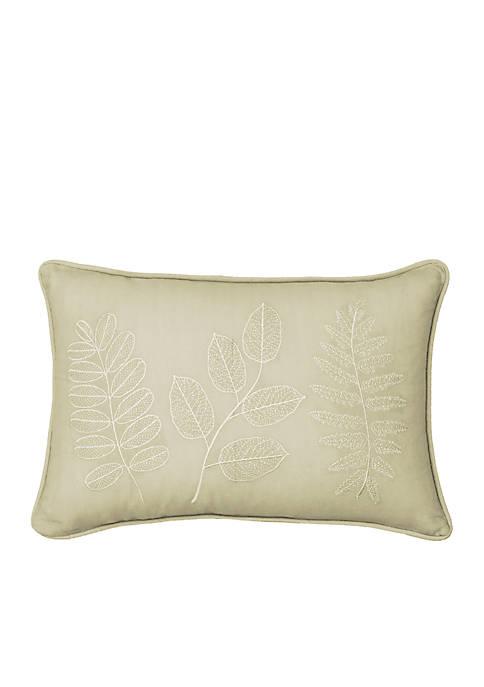 Beautyrest Laurel Embroidered Decorative Pillow