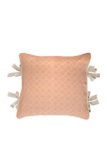 Fleuretta French Side Tie Decorative Pillow