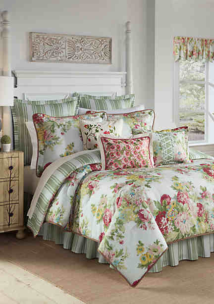 esco waverly sets bedding by quilt chirp wright king piper site charleston bedspreads quilts set