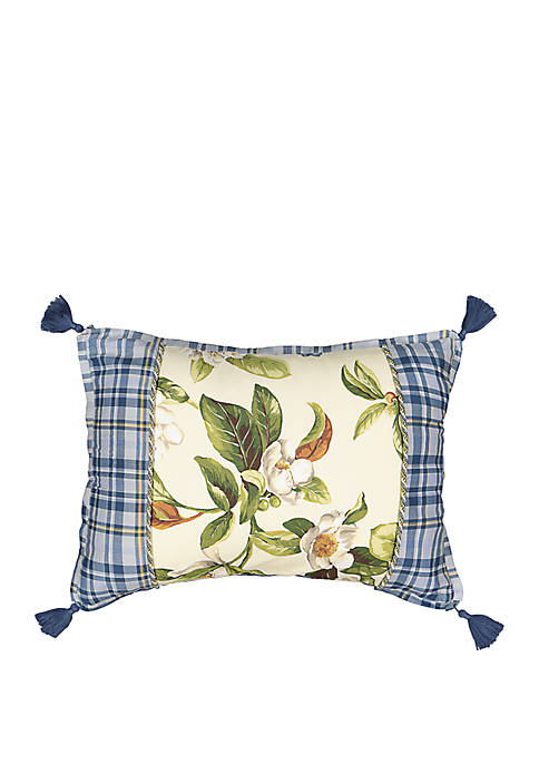 Live Artfully Pieced Pillow
