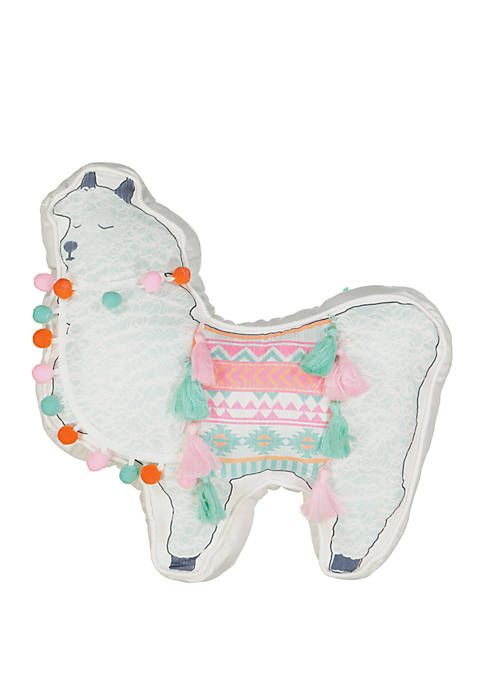 La La Llama Novelty Decorative Pillow
