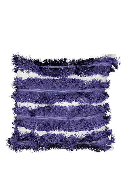 La La Llama Fringe Decorative Pillow