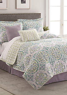 Bethany 6-Piece Reversible Quilt Bed In A Bag Set