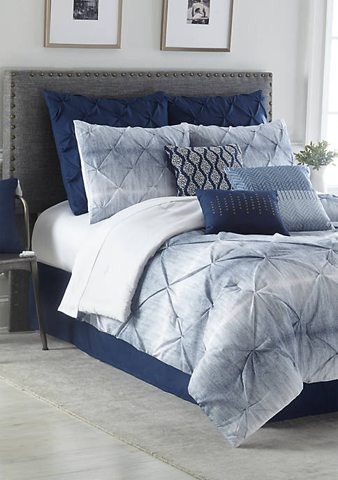 Home Accents® Cromwell 10-Piece Comforter Bed-In-A-Bag