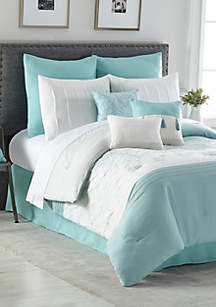 Lisette 10-Piece Comforter Bed-In-A-Bag