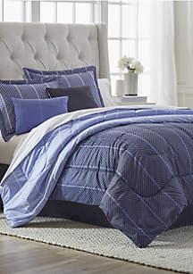 Travis 6-Piece Comforter Bed-In-A-Bag
