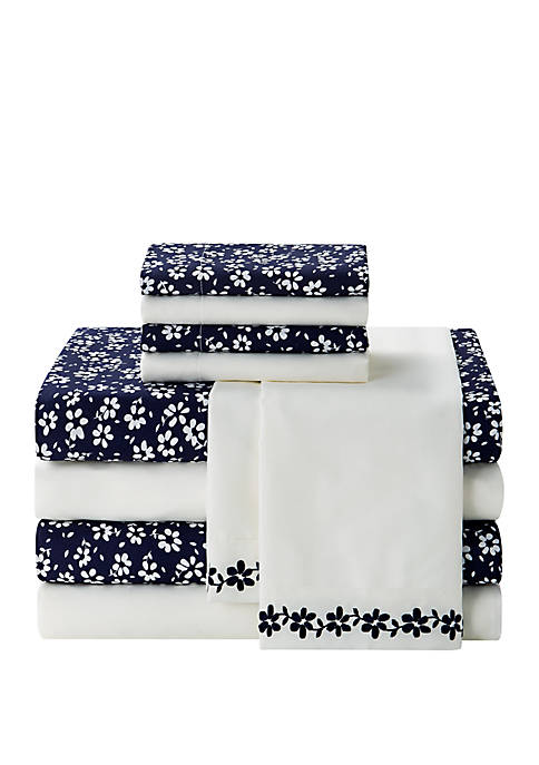 Stitch Blue Ivy 10-Piece Microfiber Sheet Set