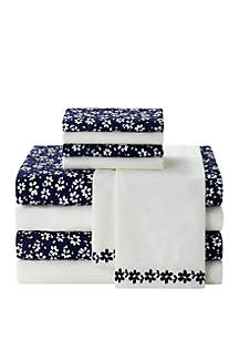 Blue Ivy 10-Piece Microfiber Sheet Set