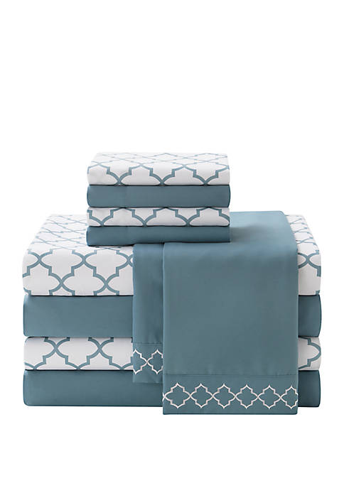 Stitch Hudson 10-Piece Microfiber Sheet Set