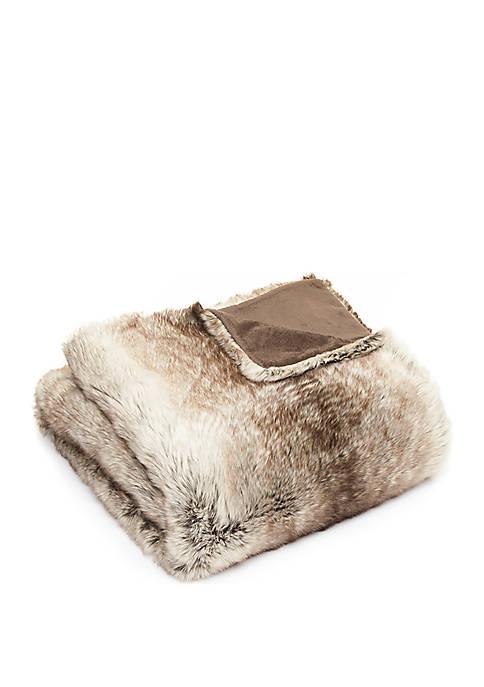 Burleigh Faux Fur Throw