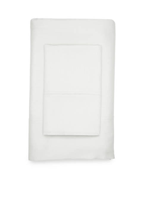 300-Thread Count Solid Cotton Sateen Sheet Set