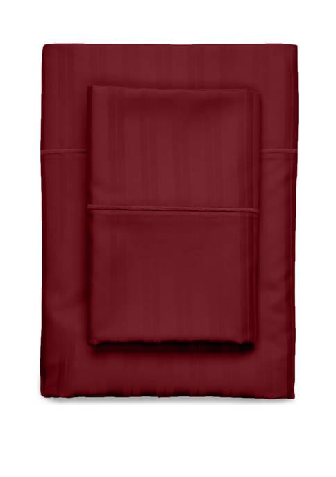 Century 100% Egyptian Cotton 610 Thread Count Damask Stripe Sheet Sets