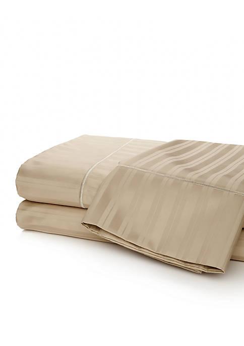 Biltmore® Egyptian 610 Thread Count Damask Stripe Pillowcase