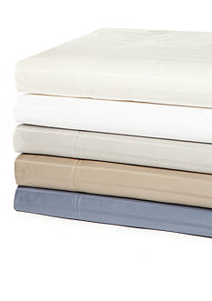 Biltmore® Flexi-Fit 460-Thread Count Stripe Sheet Set with Hygro Cotton