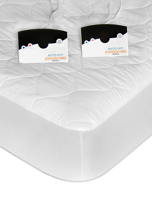 Biddeford Quilted Sherpa Heated Mattress Pad