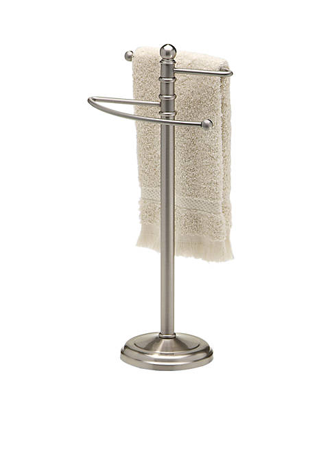 Taymor® Fingertip Towel Holder Waterfall Satin Nickel