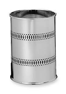 Round Vanity Wastebasket - Online Only