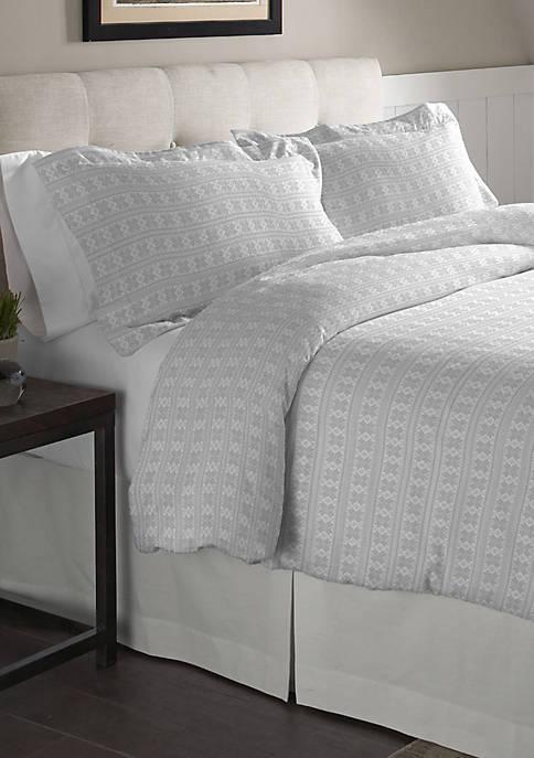 Superior Weight Cotton Flannel Duvet Set