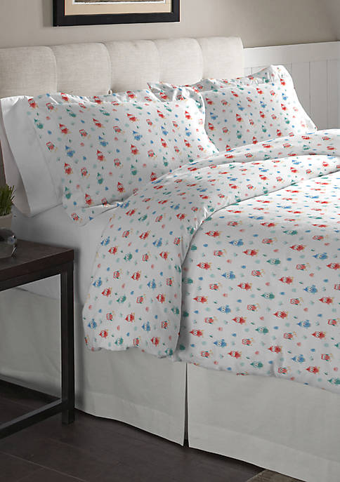 Superior Weight Cotton Flannel Duvet Set