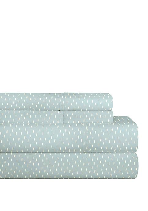 200 TC Percale Cotton Sheet Set