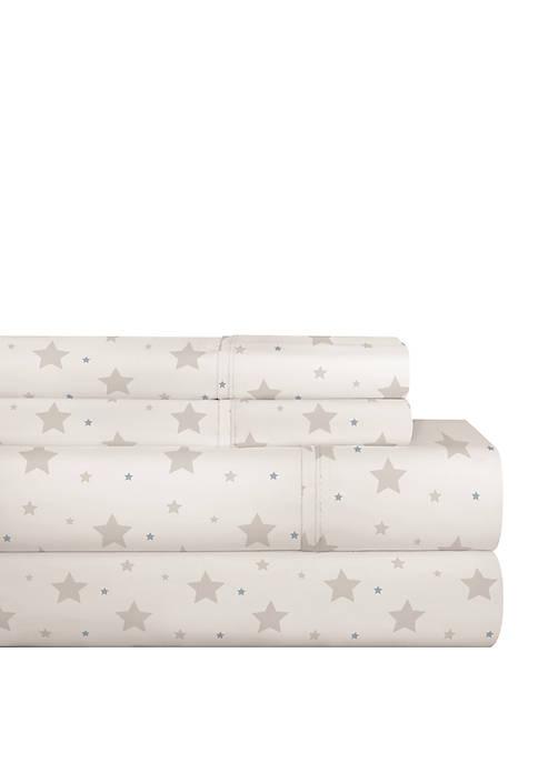Pointehaven 200 Thread Count Percale Cotton Sheet Set