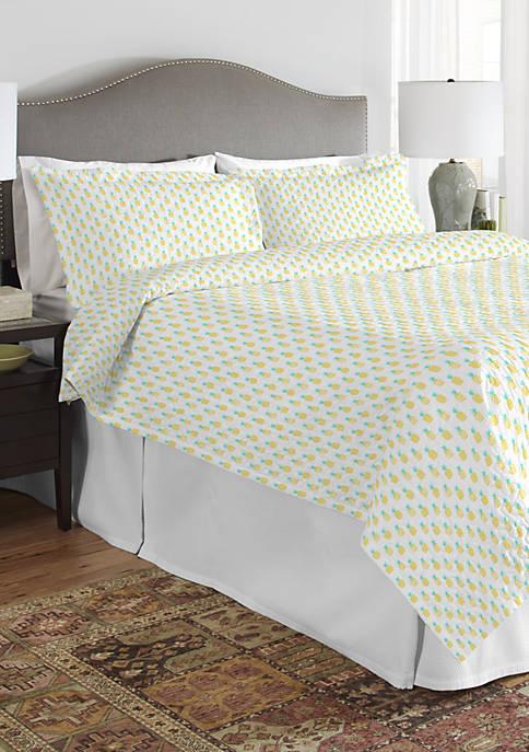 200 Thread Count Percale Cotton Quilt Set