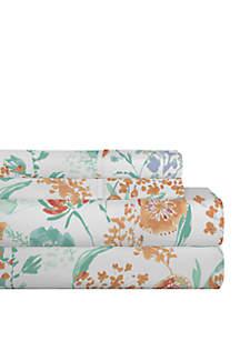 Pointehaven Celeste Home Velvet Soft Luxury Cotton Flannel Sheet Set
