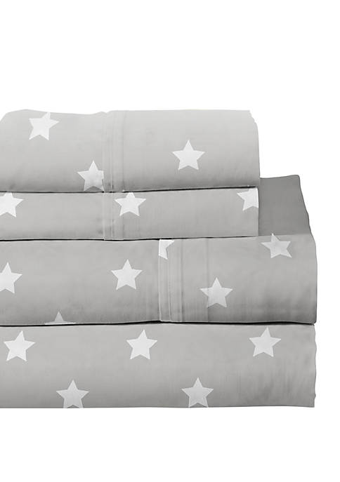 Pointehaven Lullaby Bedding Space Sheet Set