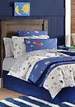 Lullaby Bedding Space Euro Shams