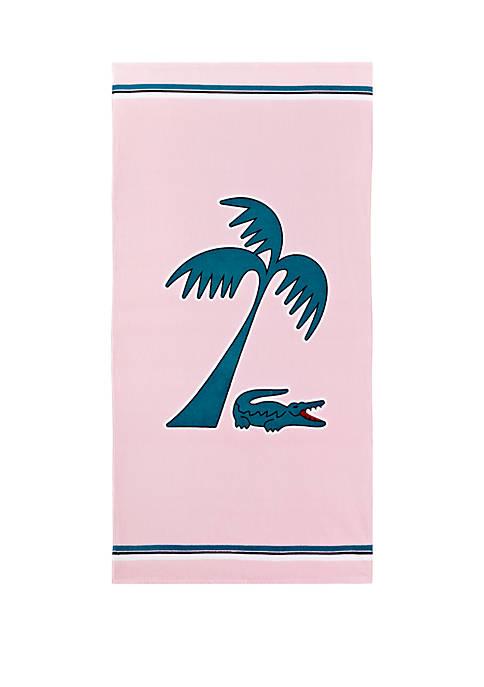Murphy Pink Beach Towel