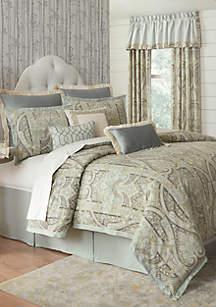 Biltmore® Grand Paisley Comforter Set