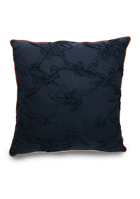 Biltmore® Cornelia Floral Soutach Decorative Pillow 20-in. x