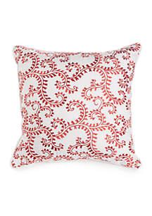 Contessa Embroidered Decorative Pillow