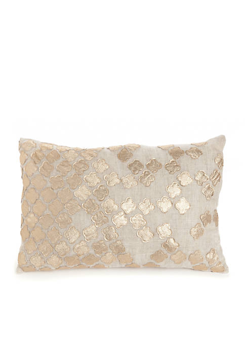 Biltmore® Contessa Metal Decorative Pillow