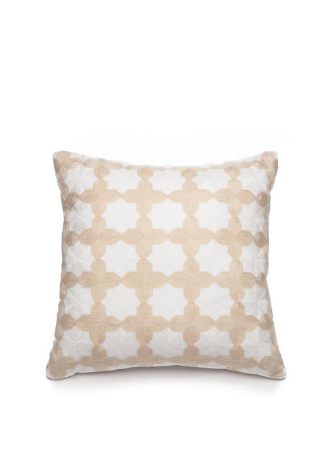 Biltmore® Paloma Embroidered Decorative Pillow