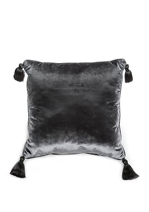 Biltmore® Intaglio Velvet Tassel Throw Pillow