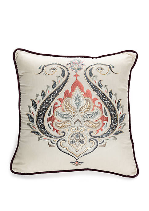 Biltmore® Intaglio Embroidered Throw Pillow