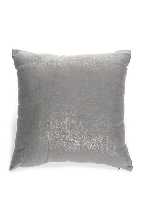 Biltmore® Amapola Metallic Throw Pillow