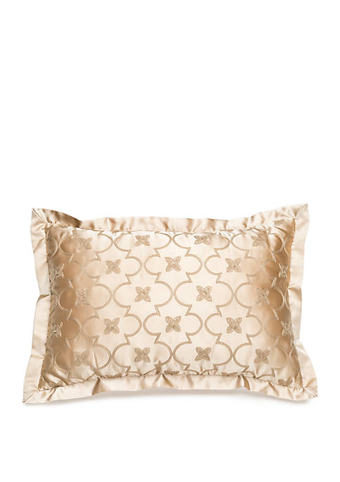 Biltmore® Amapola Ogee Embroidered Throw Pillow