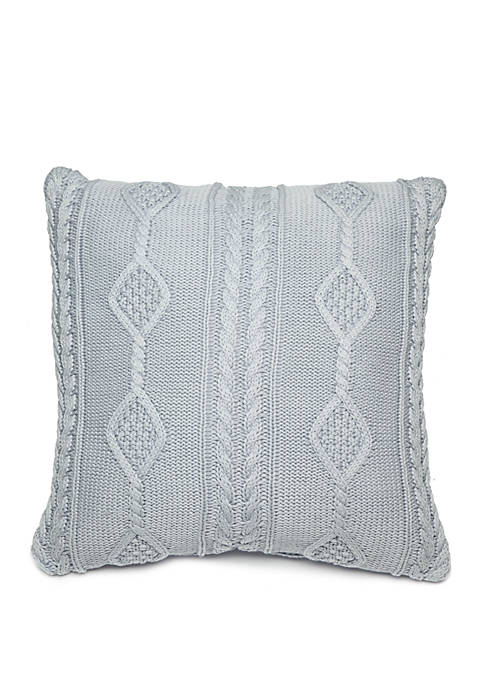 Biltmore® Haddon Knit Throw Pillow