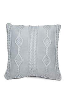 Biltmore® Haddon Knit Throw Pillow