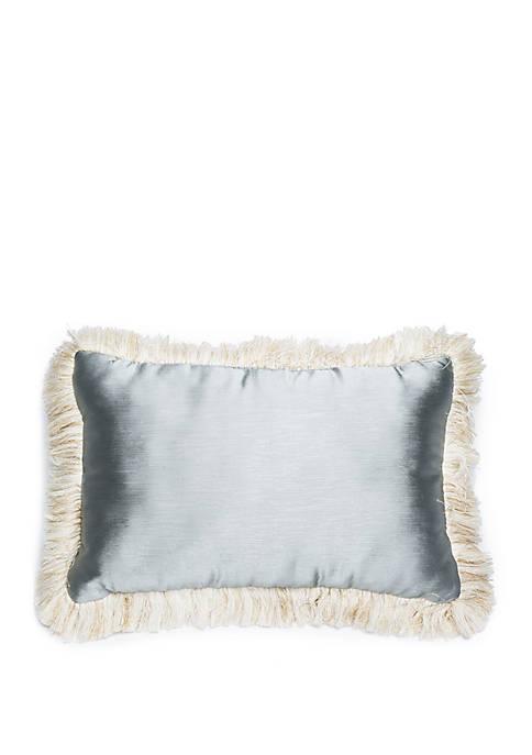 Grand Paisley Fringe Throw Pillow
