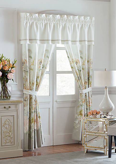 SP18 BOUQUET VAL:Valance, Tab Top 81-100:OPAL